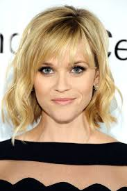 collarbone length wavy hair celebrity wavy bob hairstyle with bangs hairstyles for short medium