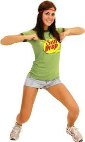 Halloween Muscle Shirt by Amazon Com Sun Drop Citrus Soda Green Costume Juniors T Shirt Tee
