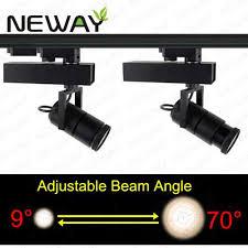 pro track lighting manufacturer 15w 9 70 degree adjust led focus track light for art gallery