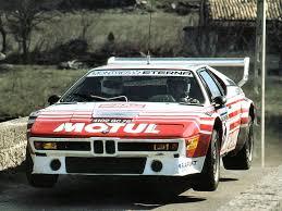 bmw rally timewastingmachine 1979 bmw m1 procar italdesign rallye 70 u0027s