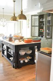 kitchen island with open shelves living with open shelving the pros and cons in grace
