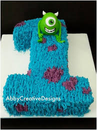 monsters inc birthday cakes google search simple but cute baby