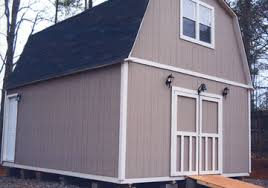 2 story storage shed with loft 16 x 24 floor plan small house 6 two story custom built workshop storage building yard barn