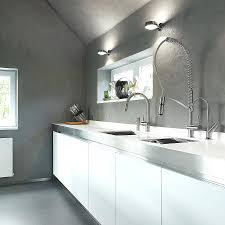 moen kitchen faucets canada kitchen faucets the unfinished concrete backdrop elevates appeal