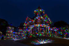 ion multicolor projected lights for festive home