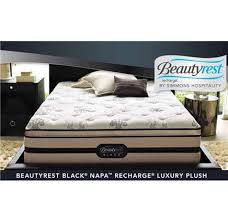 simmons hospitality beautyrest black napa recharge luxury plush
