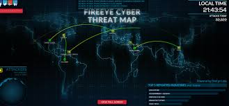 Ddos Map Top 7 Cyber Attack Maps Hacking News