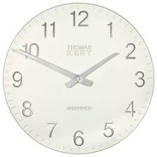 buy thomas kent cotswold clock dia 30cm online at johnlewis com
