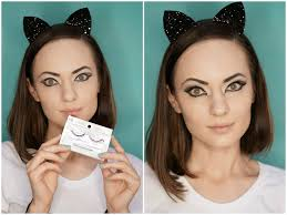 simple cat makeup halloween simple cat makeup tutorial mugeek vidalondon