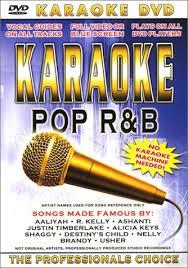 karaoke pop r b dvd no karaoke machine needed