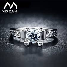 aliexpress buy new arrival white gold color aaa mdean eiffel tower engagement rings for women white gold color aaa