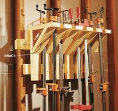 Woodworking Projects Garage Storage by 89 Best Workshop Clamp Storage Images On Pinterest Workshop