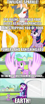 Princess Celestia Meme - 327971 banished equestria girls evil exile exploitable meme