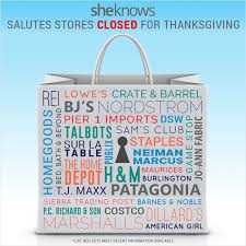 35 stores closed on thanksgiving so you can spend the at home