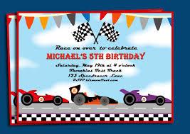 free printable race car birthday invitations printable invitations