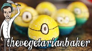 Easter Eggs Decorated Like Minions by How To Make Minion Easter Eggs Thevegeterianbaker Youtube