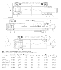 woods bh80 x backhoe backhoe hydraulic cylinders assembly assembly