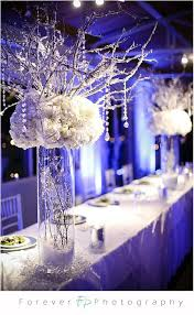 How To Make Winter Wonderland Decorations Electric Blue And Pure White Some Crystals And Pearl Strands