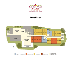 senior living floor plans rittenhouse village at laureldale