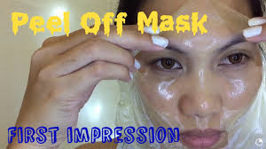 Masker Garnier Lemon garnier peel mask impression review