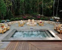 Best  Modern Pool And Spa Ideas Only On Pinterest Modern - Backyard spa designs