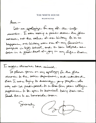 the famous obama apology note and the truth about art history ut