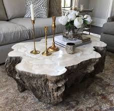 Best  Tree Coffee Table Ideas On Pinterest Tree Trunk Coffee - Living room table decor