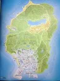 San Andreas Map Grand Theft Auto V U0027s Map Leaked Is Huge