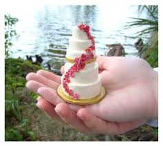 wedding cake ornament miniature wedding cake replica ornament fantabulously frugal
