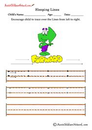 handwriting sheets slanting lines classroom ideas pinterest