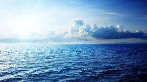 why the ocean blue in color how why what