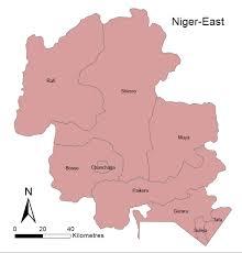 Nigeria State Map by Niger Lgas