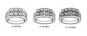 mothers ring 6 stones w 6 8 or 10 stones s ring