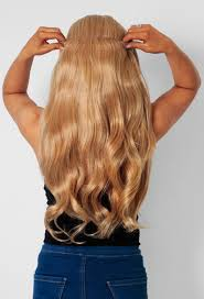 Blonde Hair Extensions Clip In by 613 Honey Blonde Curly Synthetic Instant Full Head Clip In Hair