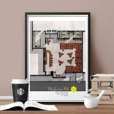 how i met your mother floor plan famous tv show floor plan zoom