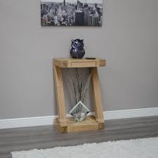 Small Console Table Designer Solid Oak Small Console Table Living Room Console And
