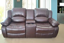 2 Seater Sofa Recliner by Black Sectional Leather Sofa Roma Real Recliner 3 2 Suite Mission