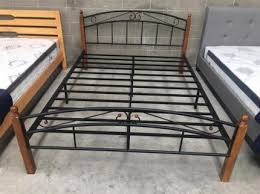 Metal Bed Frames Australia Brand New Rubber Wood Bed Frame In White Color Beds Gumtree