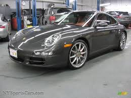 porsche slate gray metallic 2007 porsche 911 carrera 4s coupe in slate grey metallic 731502
