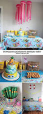 Spongebob Room Decor Spongebob Square Pants Luau Birthday Party Ideas Birthdays Bday