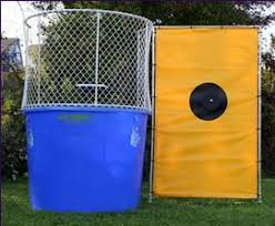 dunking booth rentals dunk tank rental bigger tanks for more dallas party rental