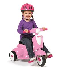 Radio Flyer Ready Ride Scooter Radio Flyer Pink Classic Lights U0026 Sounds Trike Zulily