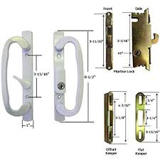 Patio Door Mortise Lock Replacement Stb Sliding Glass Patio Door Handle Kit With Mortise Lock And