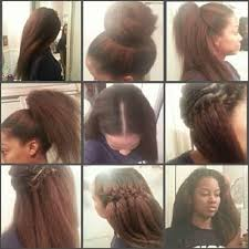 sewing marley hair 130 best hair images on pinterest hairstyle ideas hair ideas
