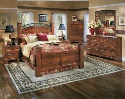 b258 timberline poster bedroom set ashley furniture miami timberline poster 4 piece bedroom set