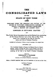 lexisnexis vi code consolidated laws of new york wikipedia