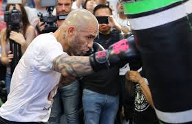 miguel cotto u0026 undercard fighters prepare for their respective