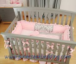 crib sets pink and grey creative ideas of baby cribs