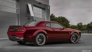 widebody cars wallpaper 2018 dodge challenger srt hellcat widebody rear three quarter