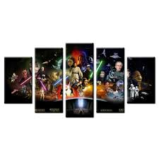 Star Wars Home Decorations by High Quality Star Wars Canvas Buy Cheap Star Wars Canvas Lots From
